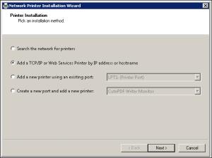 Adding IP Port