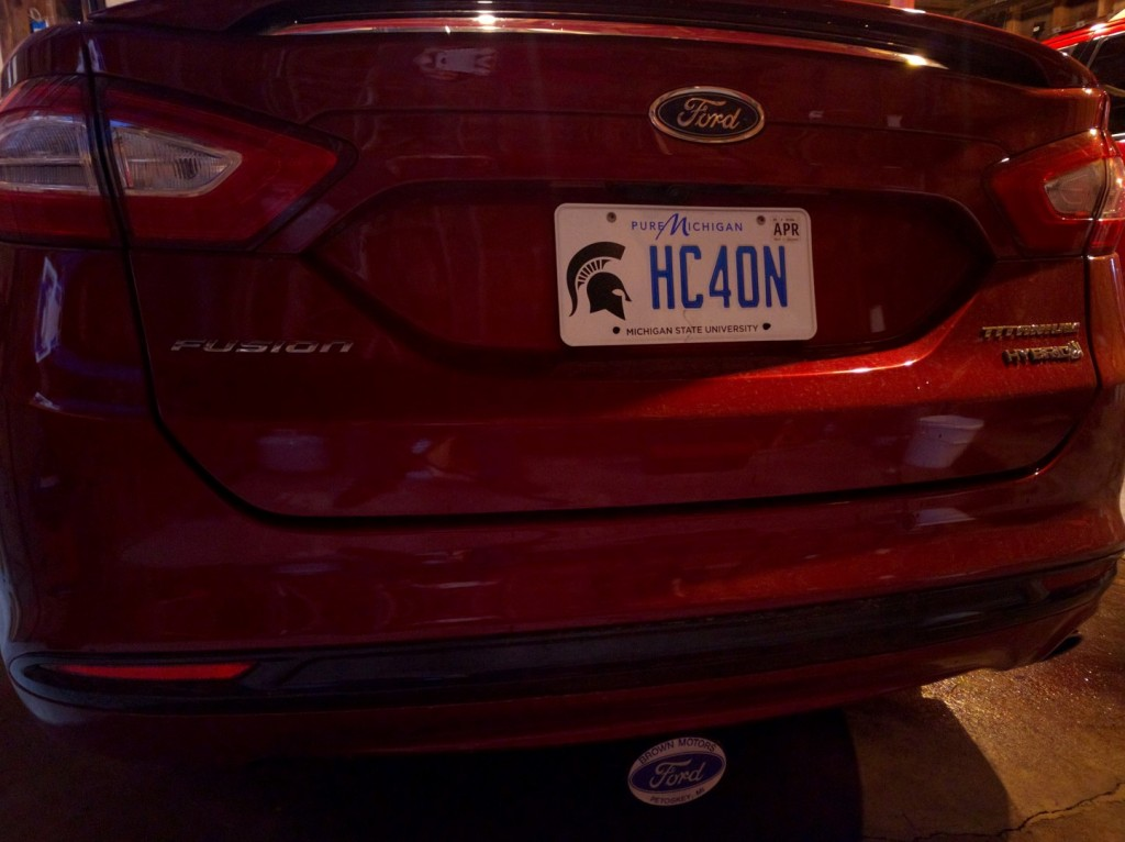Sparty Plate